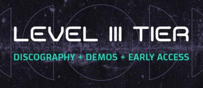 Patreon Tier Design Maker for Hip-Hop Musicians 3871d