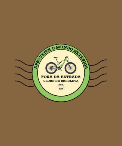 T-Shirt Design Creator for a Brazilian Biking Club 4201b-el1