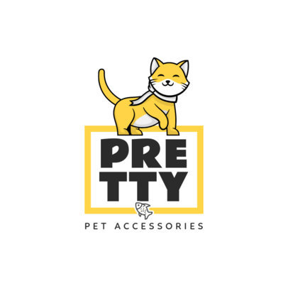 Logo Creator for a Brand of Accessories for Pets 4243b-el1