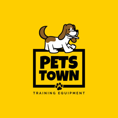 Logo Template for Pet's Training Equipment 4243d-el1
