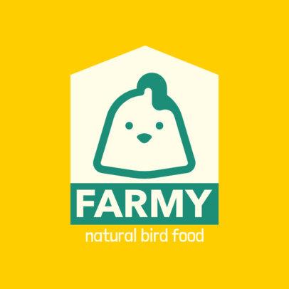 Logo Template for a Natural Bird Food Store 4239a-el1