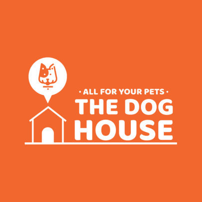 Minimal Logo Template for Pet Stores 4237-el1