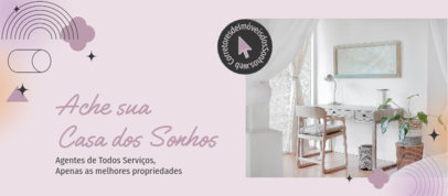Facebook Cover Design Template for Independent Real Estate Agents 3909g