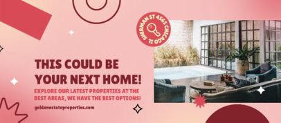 Facebook Cover Creator for a Real Estate Company 3909d
