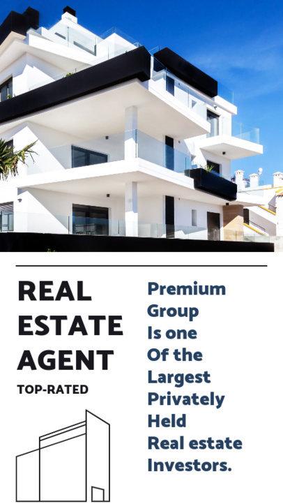 Instagram Story Design Generator for Independent Real Estate Agents 3905k