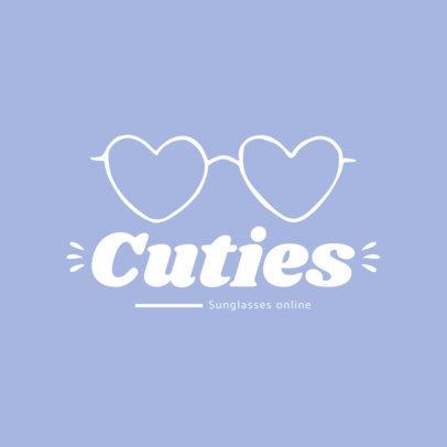 Logo Creator for an Online Glasses Shop 4263a-el1