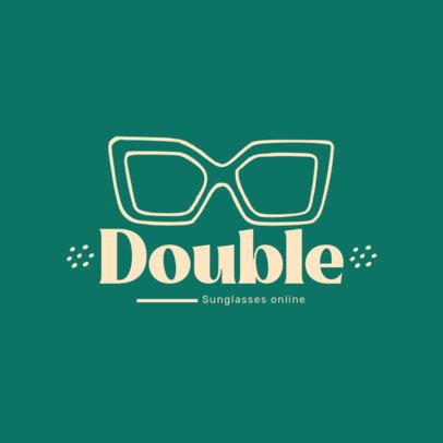 Logo Template for an Online Sunglasses Shop 4263f-el1