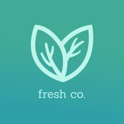 Logo Generator for an Organic Grocery Shopping App 4541f