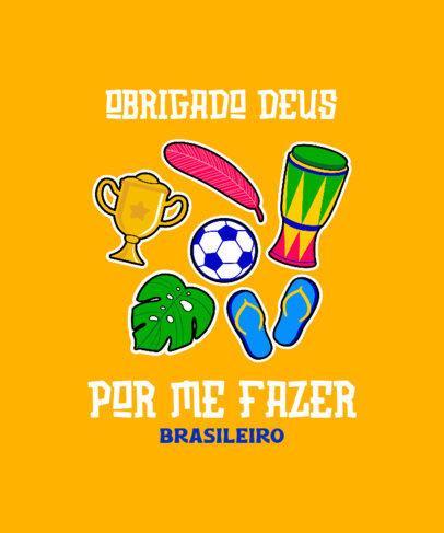 T-Shirt Design Generator to Celebrate Brazilian Identity 3951f