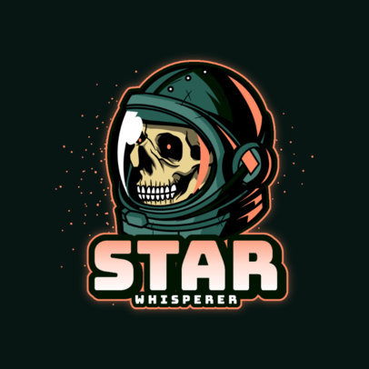 Space-Themed Logo Generator for Horror Gamers 4563F