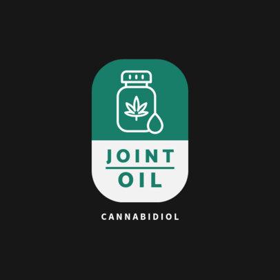 Logo Template for a Cannabidiol Distributor 4308a-el1