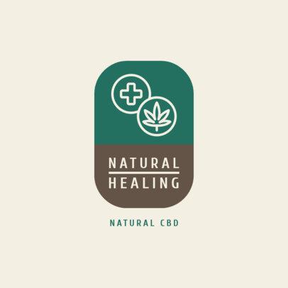 Online Logo Creator for a Natural CBD Supplier 4308b-el1