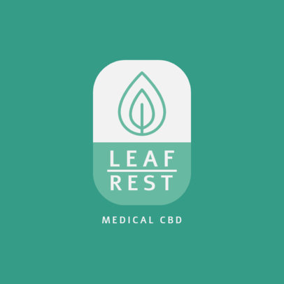 Online Logo Template for Medical Cannabis Products 4308f-el1