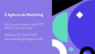 Business Card Design Creator for a Marketing Professional 3974b