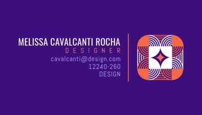 Elegant Business Card Generator for a Brazilian Designer 3970b