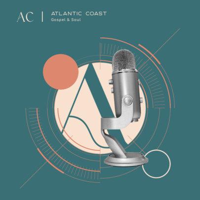 Album Cover Design Maker for a Gospel Music Compilation 4586c