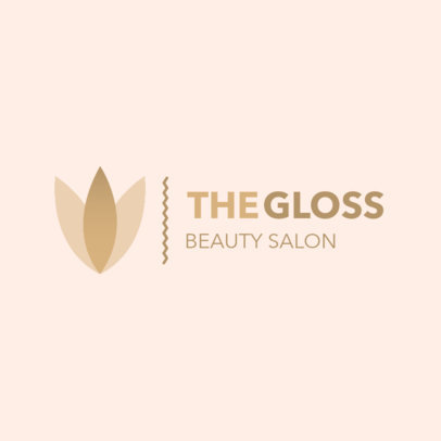 Logo Generator for a Beauty Salon With a Minimal Style 4602