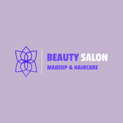 Logo Generator for a Beauty Salon Featuring a Minimal Abstract Graphic 4602A