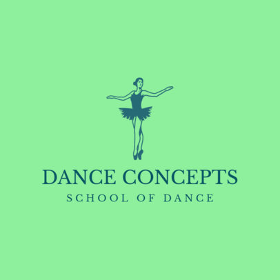 Logo Template for a Classy School of Dance 4605e