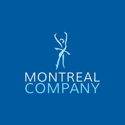 Ballet Company Logo Creator with a Ballerina Silhouette 4604d
