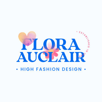 Logo Template for High Fashion Brands 4613a