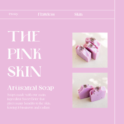 Instagram Post Generator for an Online Artisanal Soap Shop 4335e-el1