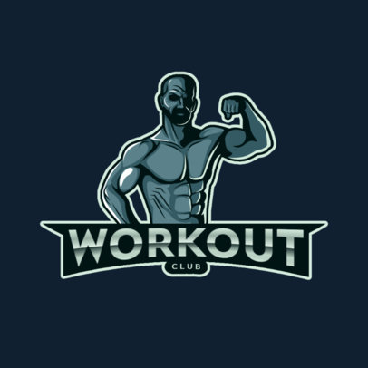 Logo Maker for a Fitness Coach or Gym 4629d