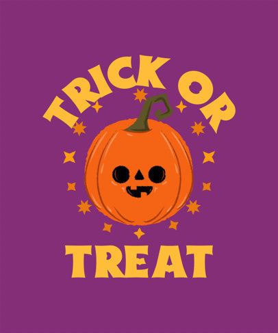 Quote T-Shirt Design Creator Featuring a Halloween Theme and Cute Graphics 4078