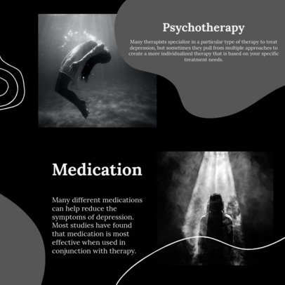 Instagram Post Generator with Information About Psychotherapy 4421c-el1