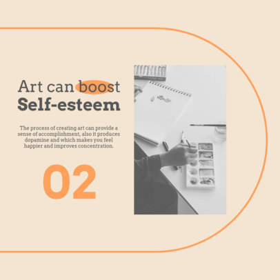 Instagram Post Generator with a Tip to Boost Self-Esteem 4410b-el1
