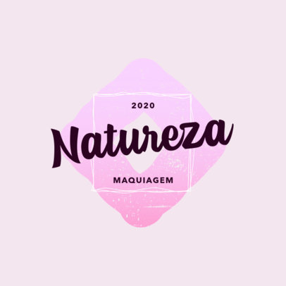 Logo Creator for a Beauty Store Featuring an Elegant Font and Abstract Graphics 4662d