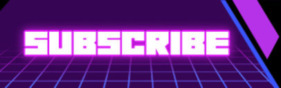 Twitch Panel Template for Streamers Featuring Glowing Text 4462-el1
