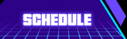 Twitch Panel Generator for a Streaming Schedule 4462a-el1
