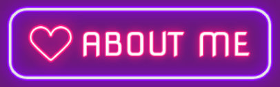 Twitch Panel Design Maker With a Neon Theme and a Heart Icon 4466d-el1
