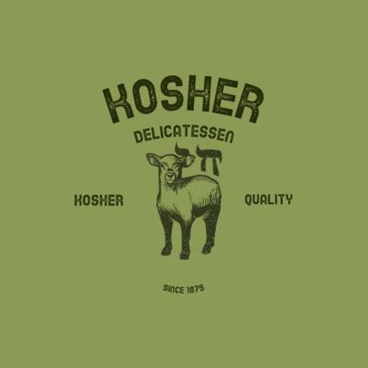 Logo Generator for a Kosher Butcher 4700A
