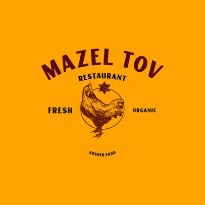 Logo Maker for Organic Kosher Meat Businesses 4700D