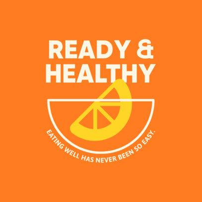 Company Logo Generator for Healthy Food to Go 4489c-el1