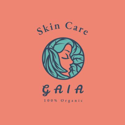 Online Logo Template for Organic Skincare Brands 4716e