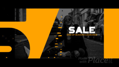 Slideshow Video Template for a Clothing Brand's Sale Ad 3486a 4183-el1