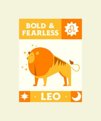 T-Shirt Design Maker Featuring Zodiac Sign Illustrations 4518-el1