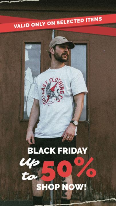 Facebook Story Maker for Black Friday Clothing Deals 4538-el1