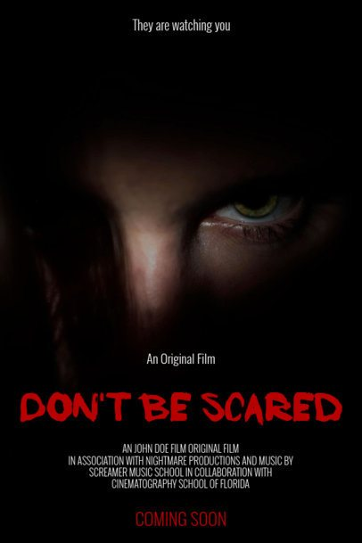 Online Poster Maker - Horror Film Poster Template a57