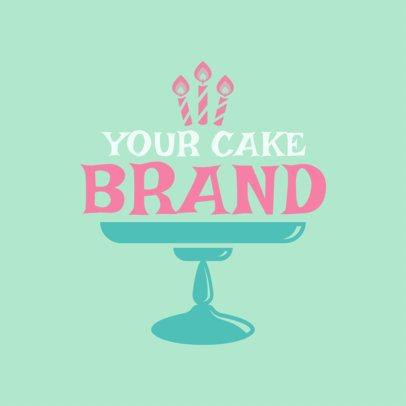 Cupcake Shop Logo Maker a1114