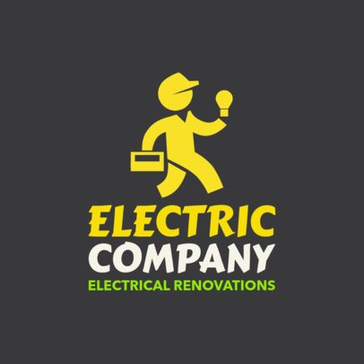 Electrician Logo Maker a1183