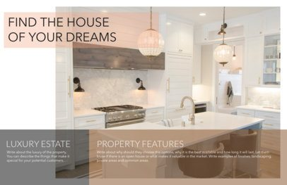 Horizontal Flyer Maker to Design Minimalistic Real Estate Flyers a249