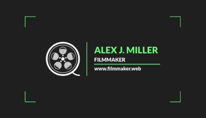 Film Studio Business Card Maker a217