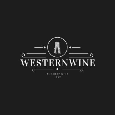Wine Logo Maker a1206