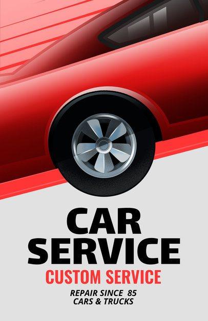 Car Service Flyer Maker a289