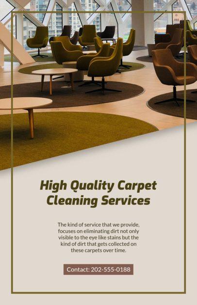 Carpet Cleaning Flyer Maker 295