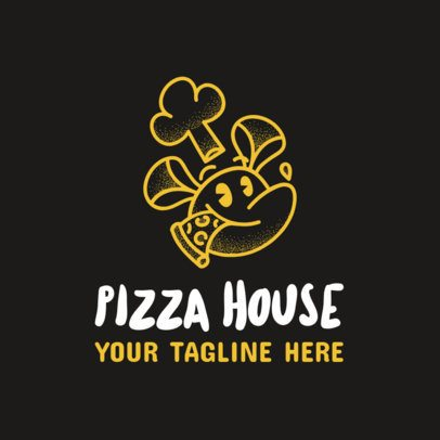 Online Logo Maker for a Pizza Place 989a
